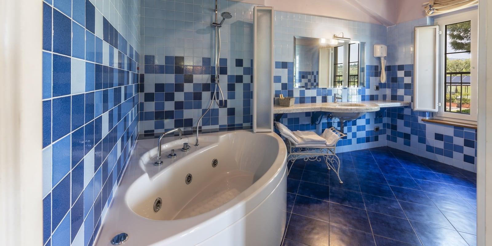 camera letto suite bagno