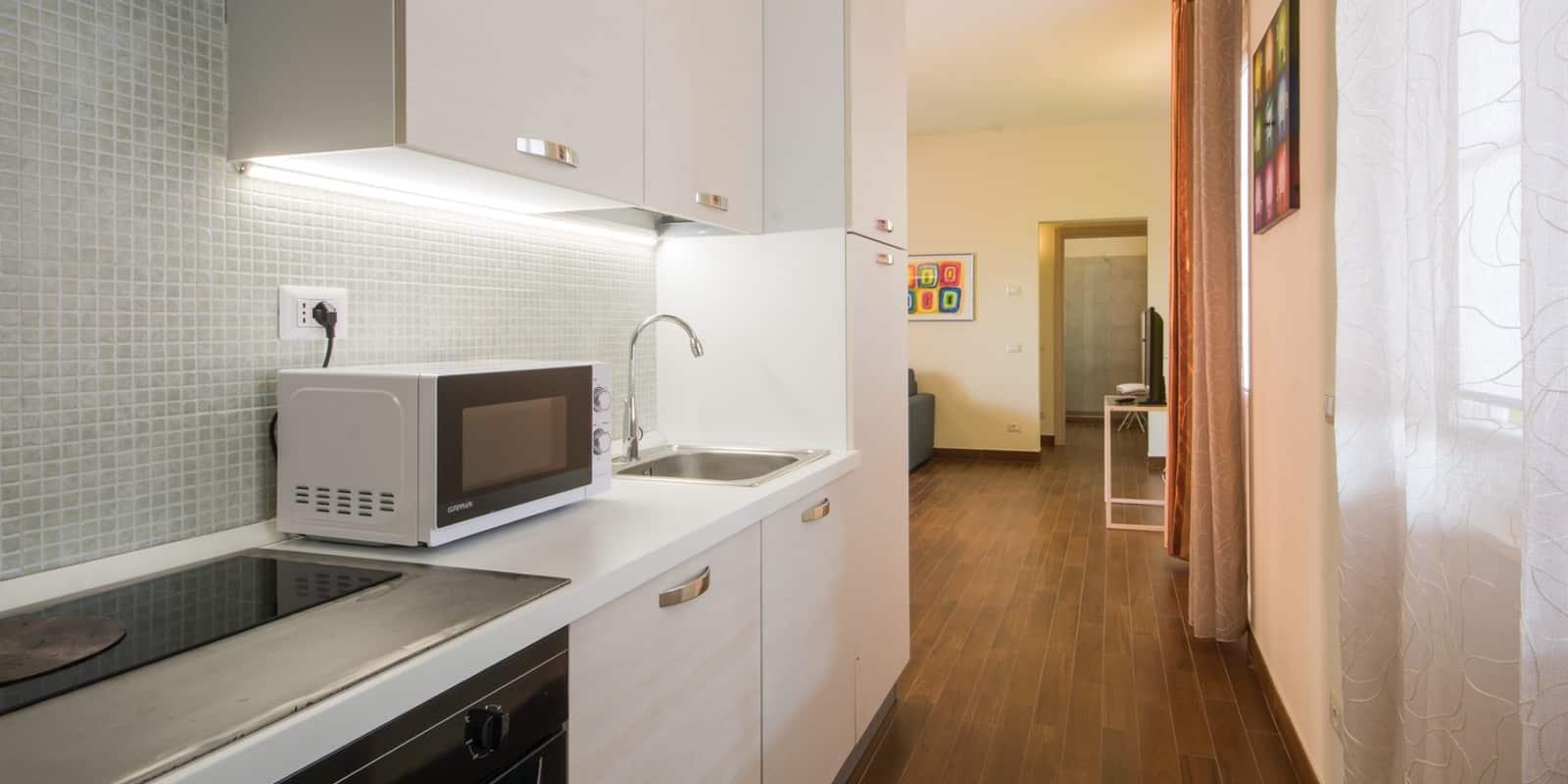 Appartamento camera da letto cucina